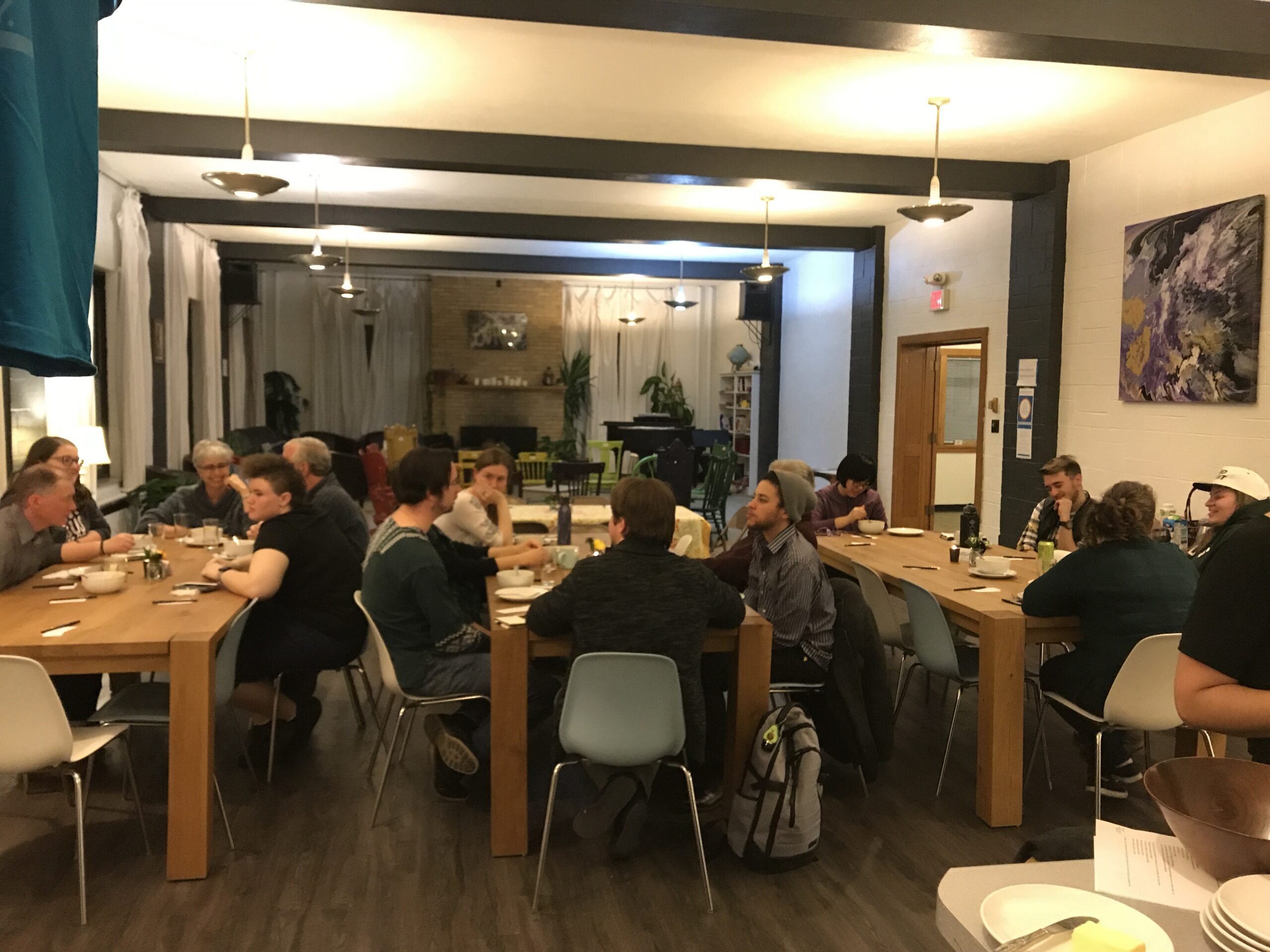 Fall 2019 Tuesday Table Gathering
